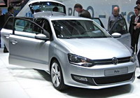 The new VW Polo on show in Geneva