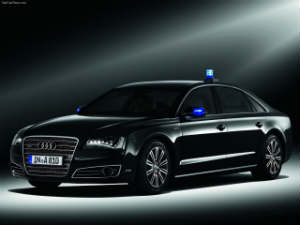 Audi Armored A8 L Security Sedan