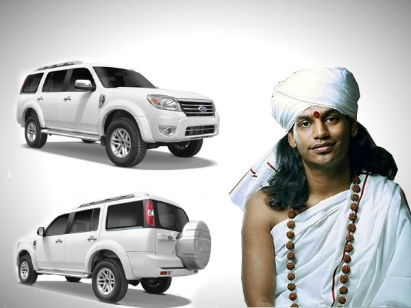 nityananda quits favourite car before arrest