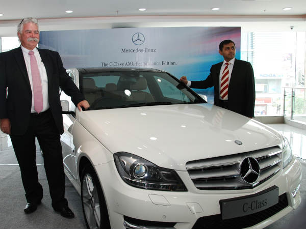 mercedes benz launches c class amg
