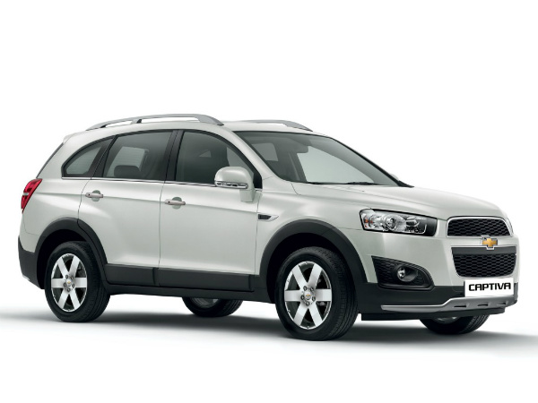 GM Updates Website With Chevrolet Captiva Facelift
