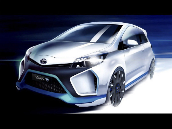 Toyota Reveals Yaris Hybrid-R Concept