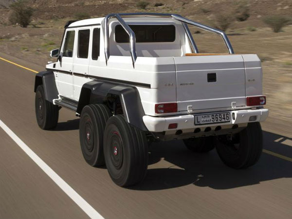 Mercedes-Benz G63 AMG 6X6 Price Revealed