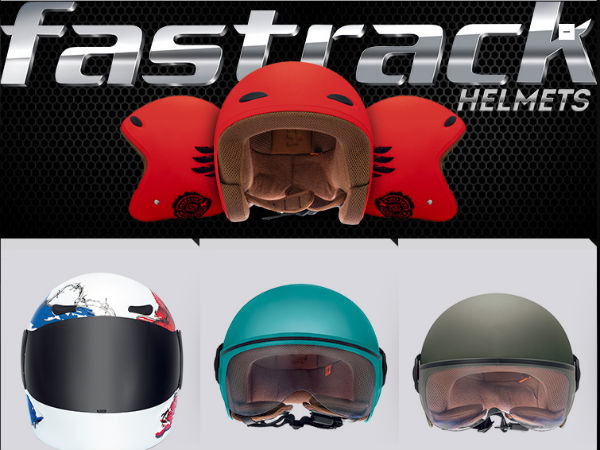 Fastrack Helmets For Motorcycles Hits Stores