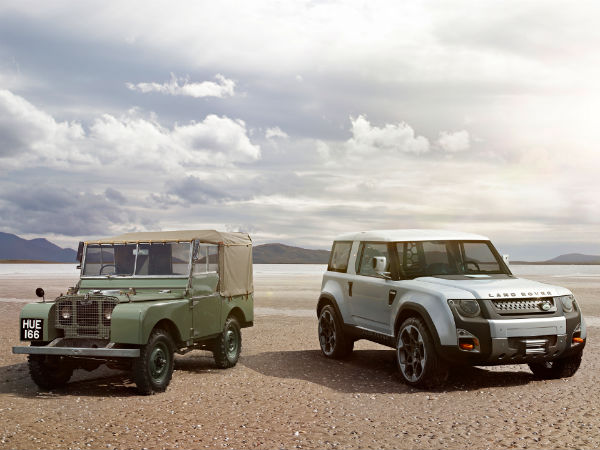 Land Rover Defender Pickup Truck