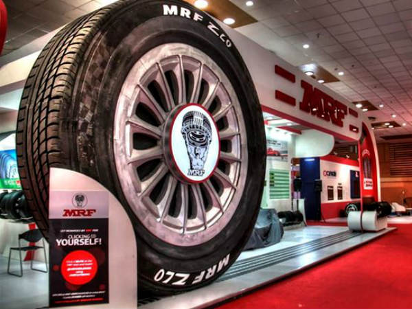 MRF Tyres Receive Customer Satisfaction Award For Fifth Year