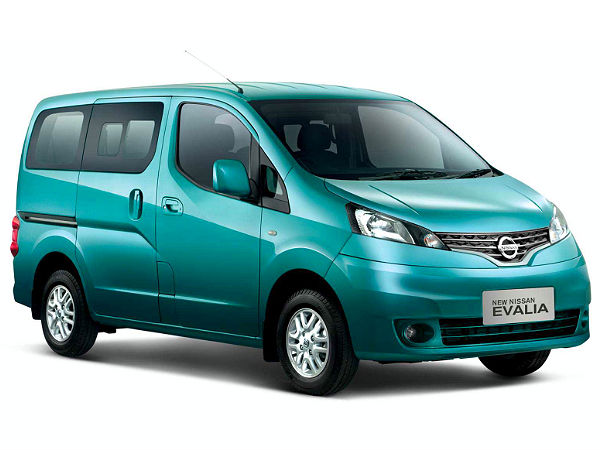 Nissan Evalia Extensive Facelift Confirmed In 2014 For India