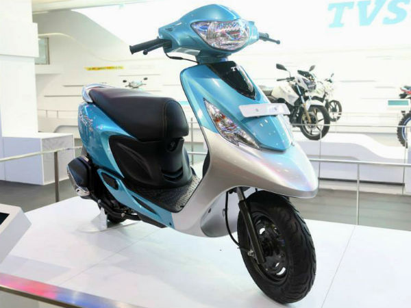 TVS Scooty Zest Launching On 20th August