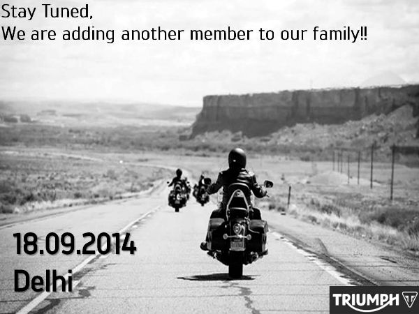 Triumph India Launching New Motorcycle On 18th September