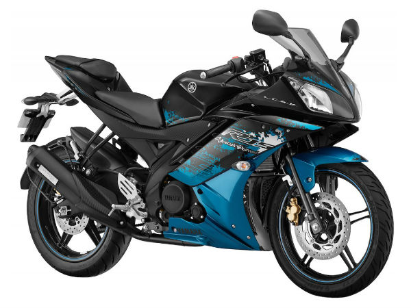Yamaha R15 launched in two new colours