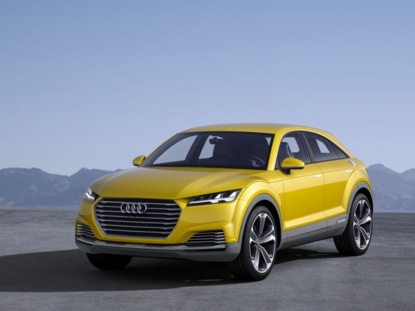 Audi Q1 To Be Globally Revealed In 2016 As New Entry Level SUV
