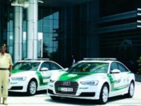 Audi A6 to Dubai Police Garage 01
