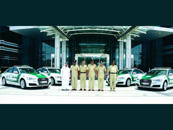 Audi A6 to Dubai Police Garage