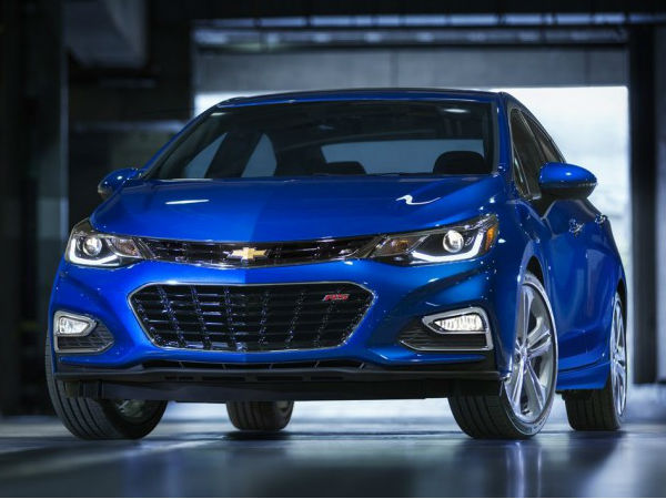 New Chevrolet Cruze to debut in India at 2016 Indian Auto Expo