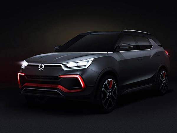 Ssangyong XLV AIR and XAV Adventure Concept To Debut At Frankfurt