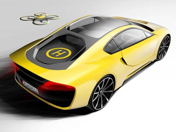 Rinspeed Hybrid Sportscar With Drone To Debut At 2016 CES