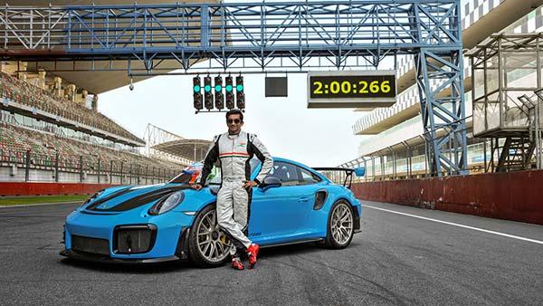 ബുദ്ധ് സര്ക്യൂട്ടില് പുതുചരിത്രം കുറിച്ച് പോര്ഷ 911 GT2 RS