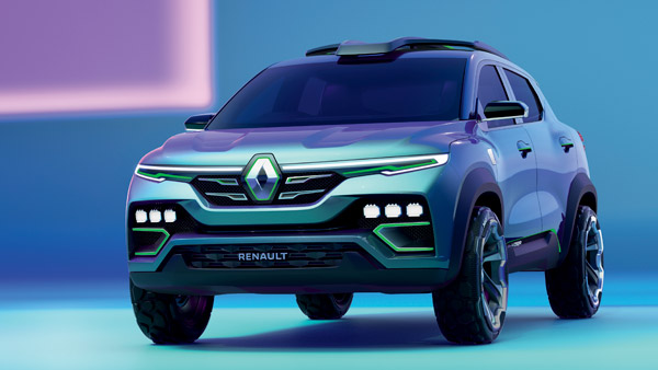 Renault Kigger is also getting ready with a great look;  Introduced the concept model
