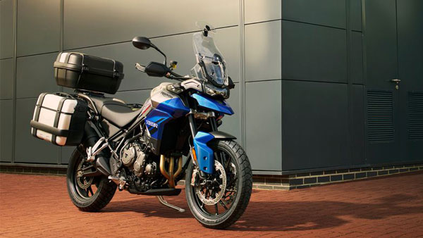 Triumph launches new Tiger 850 Sport globally