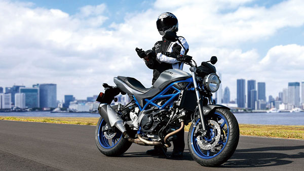 Suzuki with the Cafe Racer variant in the SV650 range