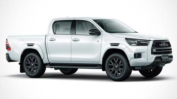 കൂടുതൽ സുന്ദരനാക്കി, Hilux പിക്കപ്പ് ട്രക്കിന് GR സ്പോർട്ട് എഡിഷൻ സമ്മാനിച്ച് Toyota