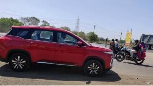 മഹീന്ദ്ര XUV500 -യെക്കാളും നീളത്തില് പുതിയ എംജി ഹെക്ടര് — വീഡിയോ