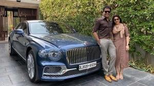 രാജ്യത്തെ ആദ്യ 2020 ബെന്റ്ലി ഫ്ലൈയിംഗ് സ്പർ കരസ്ഥമാക്കി ഗുജറാത്ത് സ്വദേശി