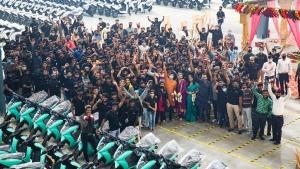 ഹൊസൂരിലെ പുതിയ നിർമ്മാണശാലയിൽ ഉത്പാദനം ആരംഭിച്ച് ഏഥർ എനർജി