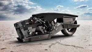 മോട്ടോ-ടെർമിനേറ്റർ രൂപഭാവത്തിൽ ലാൻഡ്-സ്പീഡ് റേസറായി മാറി ബിഎംഡബ്ല്യു S 1000 RR