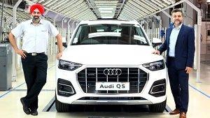 പുതുക്കിയ Q5 എസ്യുവിയുടെ പ്രാദേശിക ഉത്പാദനം ആരംഭിച്ച് Audi